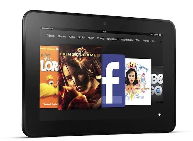 Amazon presenta los Kindle Fire HD