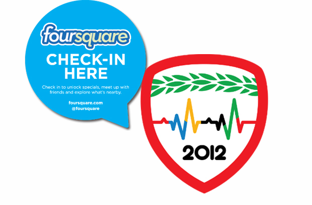 Olimpiadas Foursquare