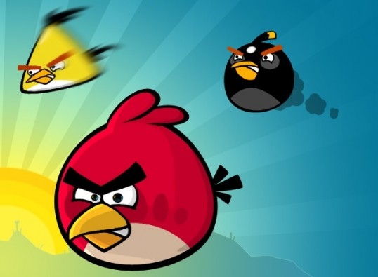 angry birds, facebook, iphone, apple