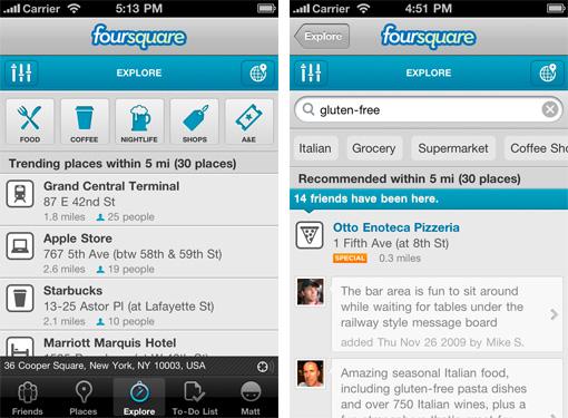 Foto tomada del Blog de Foursquare