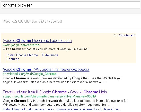 Google Chrome Pagina Oficial