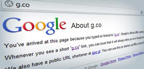 Google compra G.co para acortar las URL's de sus productos