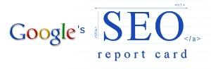 google-seo-report-card