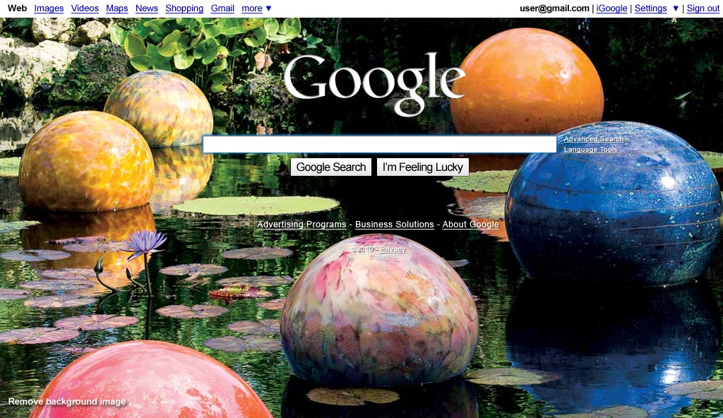 googlecambiosimagenfondo