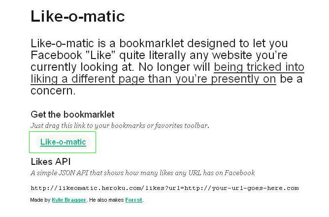 like-o-matic