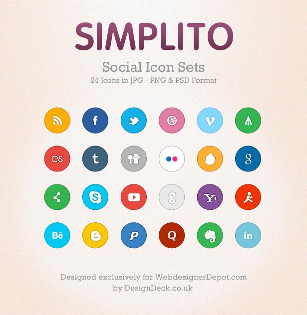 íconos para tus redes sociales