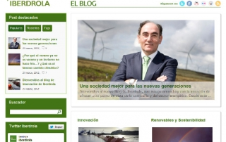 Blog Corporativo Iberdrola
