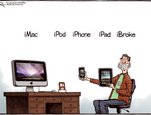 Humor Apple: iBroke