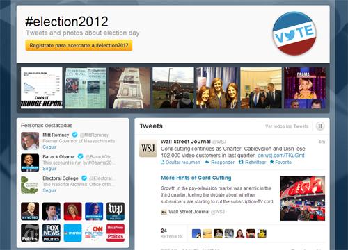 Twitter, Facebook y Foursquare en las elecciones norteamericanas