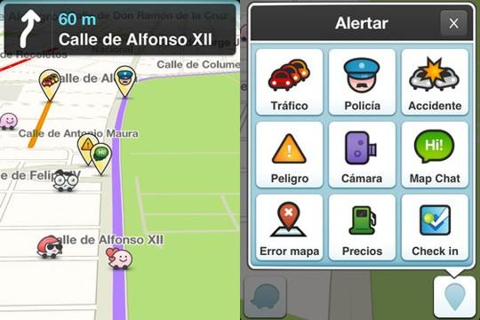 Waze, el mapa social para conductores