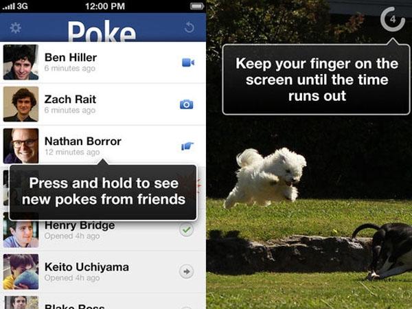 Facebook permite mandar mensajes de duración limitada