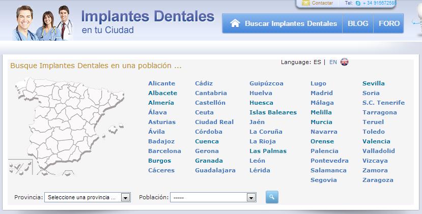Implantes Dentales en Tu Ciudad   Clínicas Dentales de Implantes