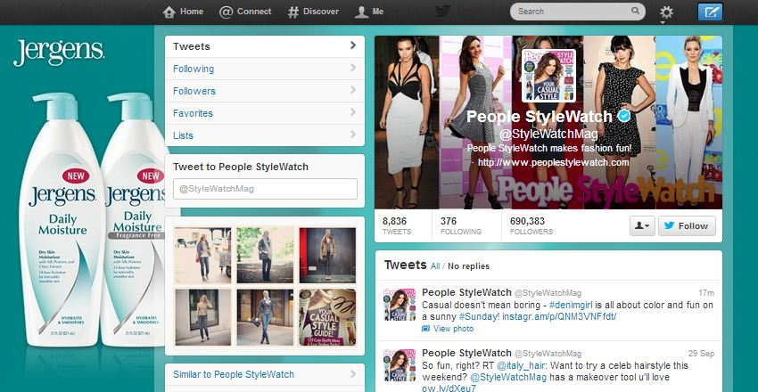 Twitter Revista People