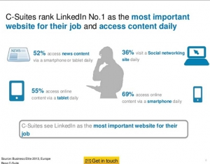Linkedin triunfa en el European Business Elite