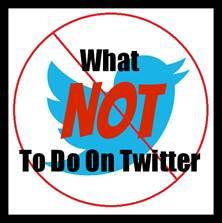 Qué no debemos hacer en nuestro perfil de Twitter