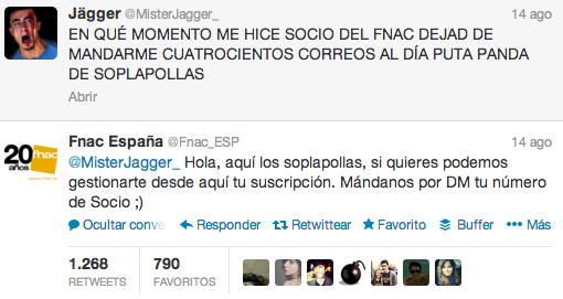 Twitter FNAC