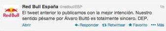 Twitter Red Bull Álvaro Bultó