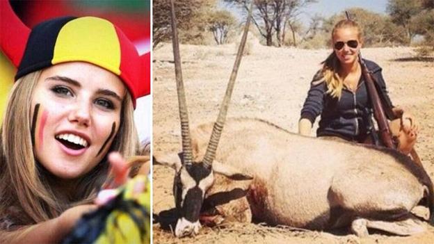 La modelo belga de Brasil 2014 que no cuidó su reputación online