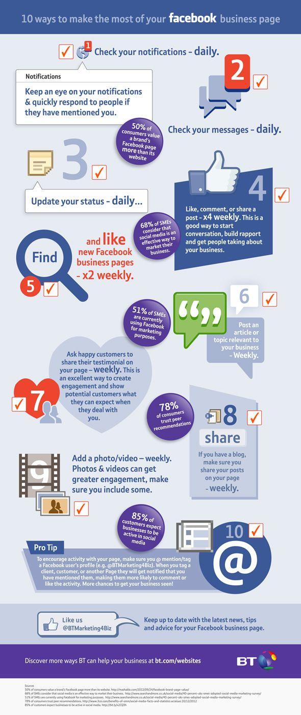 10 consejos para mejorar tu Página de Facebook