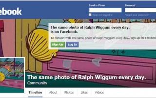 ¿Seguir a un perfil de Facebook que publica siempre la misma foto?