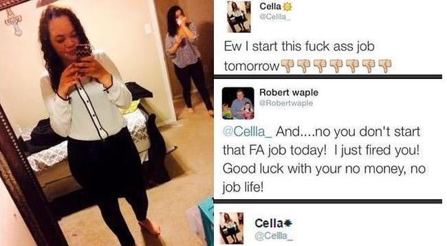 ¿Trabajo nuevo? Cuidado con lo que tuiteas…