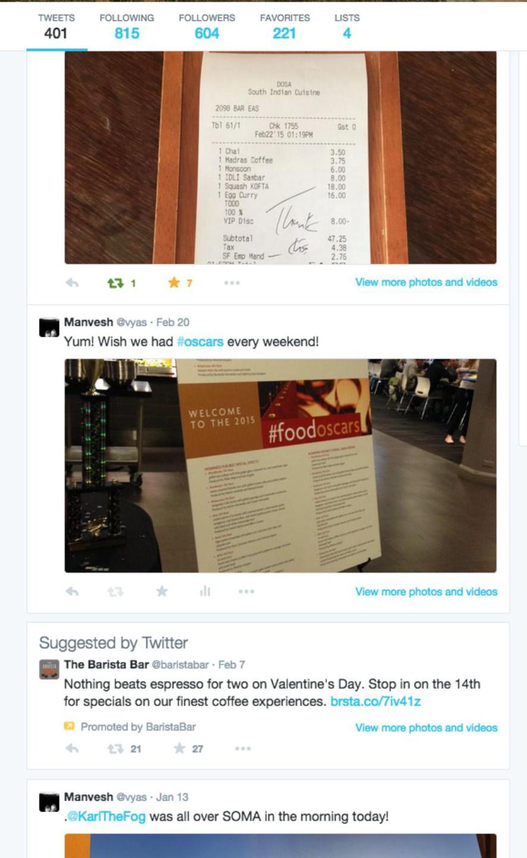 Twitter prueba a insertar publicidad en los perfiles de usuario