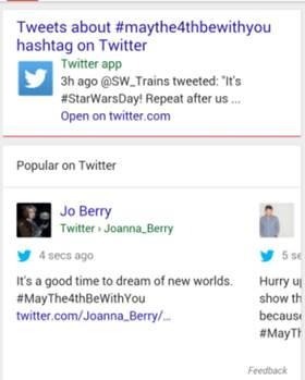 Google y Twitter buscan aliarse en los resultados de búsqueda