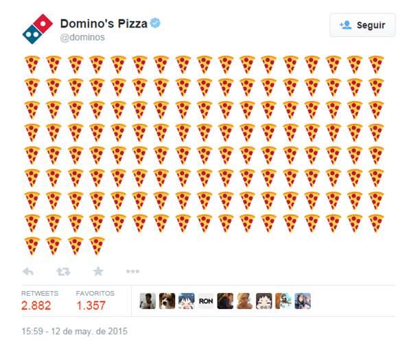 Twitter ahora también para pedir pizza a domicilio