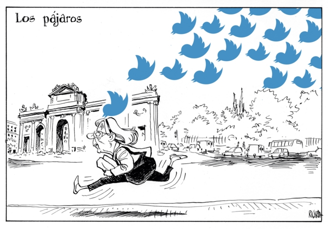 Los pajaros Twitter