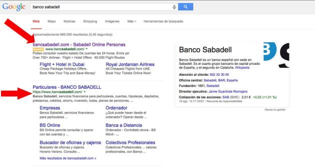 Phising Banco Sabadell