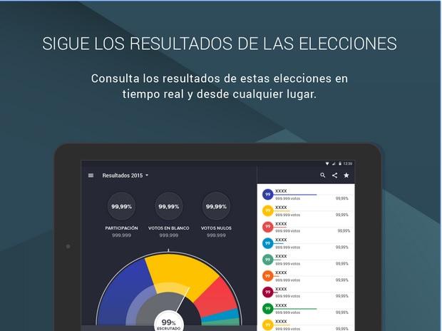 'Eleccions 27S', una app para seguir las elecciones catalanas y simular pactos