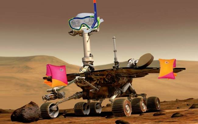 El agua llega a Marte e inunda las redes sociales