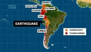 Facebook activa Terremoto en Chile