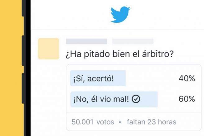 Twitter permite crear encuestas