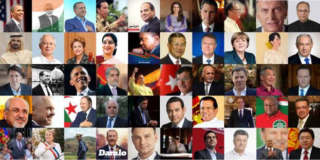 El 87% de los gobiernos del mundo, presentes en Facebook
