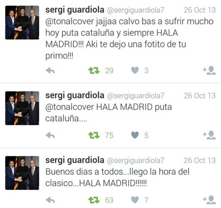 Twitter Sergi Guardiola