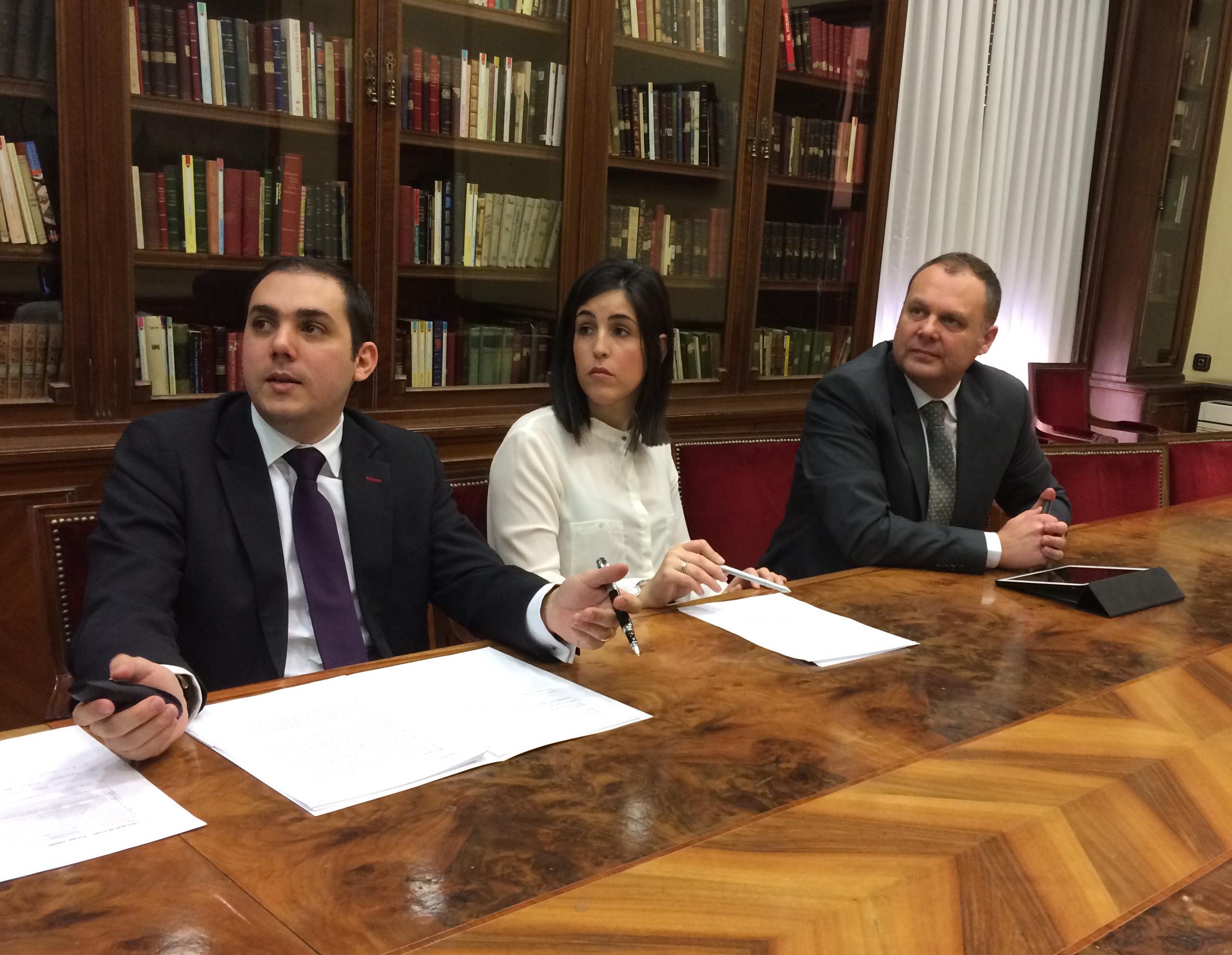 Felix Urosa, Mario Arias, Samdra Moreno