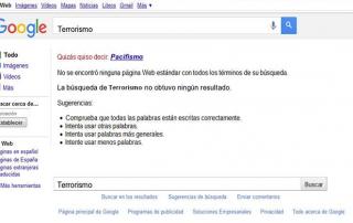 terrorismo en google
