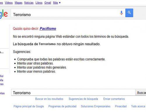 Google se posiciona en contra del terrorismo