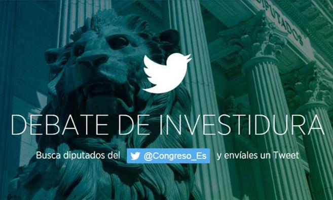 #SesiónDeInvestidura y otras maneras de seguir el debate en redes sociales