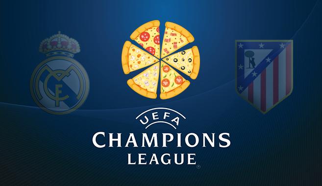 La Final de la Champions aumenta un 35% los pedidos de comida vía Internet
