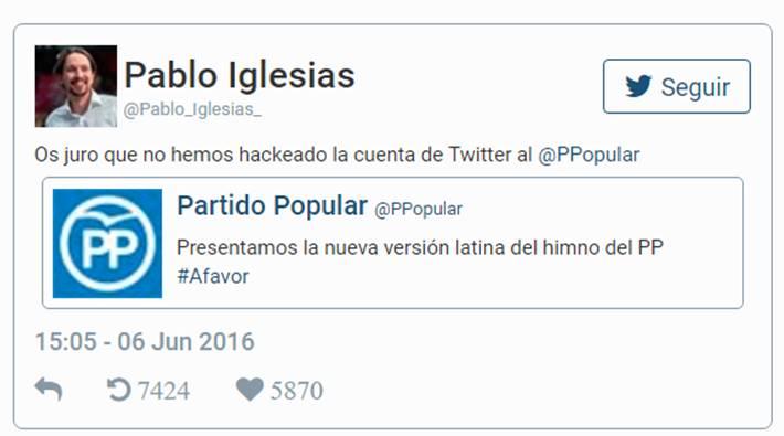 La versión latina del himno del PP revoluciona las redes