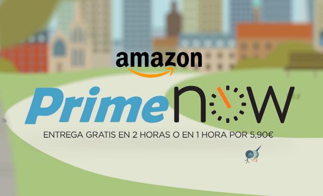 Amazon Prime Now, 18.000 productos a tu disposición en menos de 2 horas