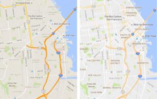 Google Maps mejora su apariencia y añade funcionalidades