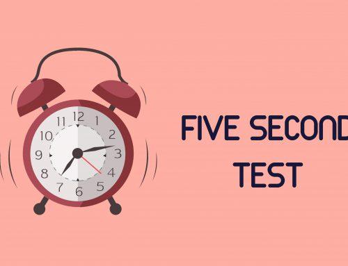 ¿Pasa tu web el test de los 5 segundos?