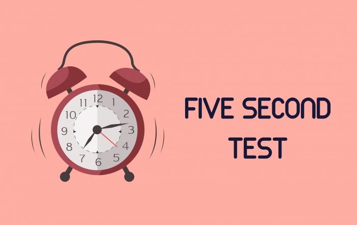 test cinco segundos