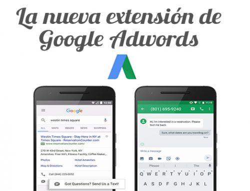 La nueva extensión de AdWords: click-to-message