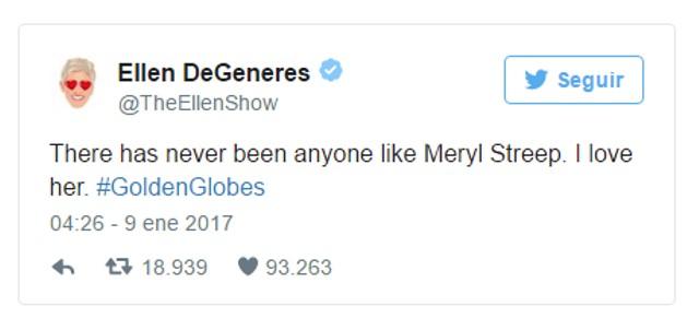Lo más social de los Golden Globes