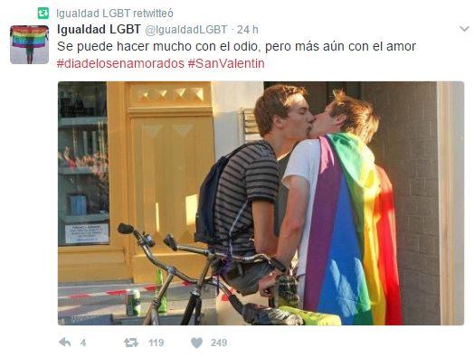 LGTB en San Valentín