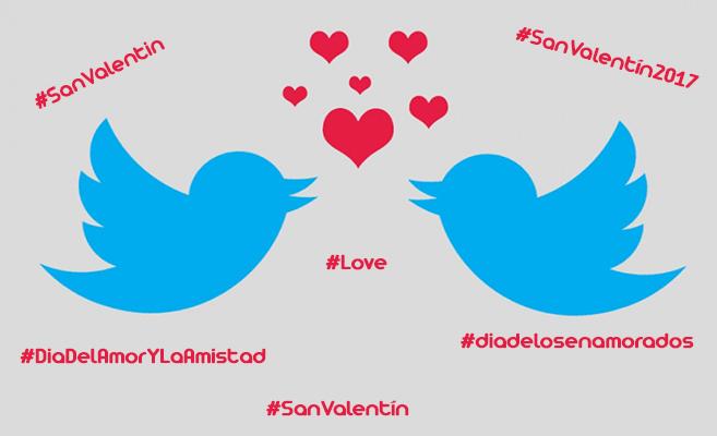 San Valentin en Twitter